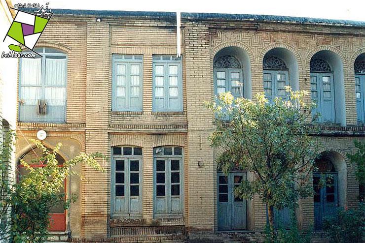 عمارت امجدالاشراف سنندج