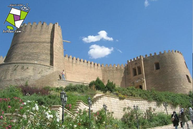 قلعه فلك الافلاك خرم آباد